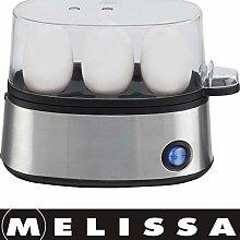 Melissa 16270019 elektrischer Eierkocher, für