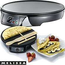 Melissa 16310146 Crepes Maker Profi für Crepes,