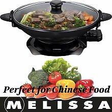 Melissa 16310207 Elektrowok: Elektrischer Wok mit