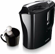 Melissa Reise Wasserkocher 1000 Watt, Teekocher elektrisch inklusive 2 Kunststoffbecher und Transportbeutel, Reisewasserkocher mit gratis Teemännchen von Oramics