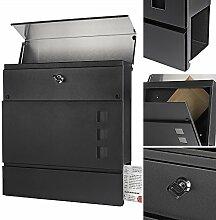 Melko Design Briefkasten mit Zeitungsfach aus