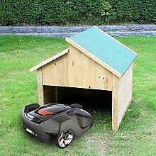 Melko Garage Carport Überdachung aus Holz für