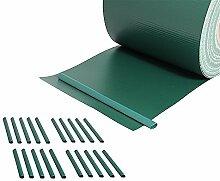 Melko PVC Sichtschutzstreifen für Den Gartenzaun