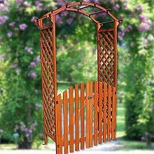 Melko Rosenbogen Holz Eingangspergola Laubengang