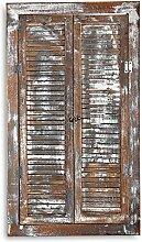 Melko Spiegelfenster 70cm Spiegel Fensterläden