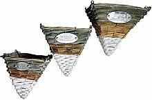 Melo Dreiecke 3er Set Pflanz-Gefäße zum Hängen