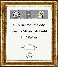 Melody Massivholz Bilderrahmen Barock 60 x 90 cm