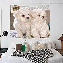 Melodycp Bettüberwurf für Haustiere, nordischer