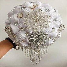 Melodycp Handgefertigter Hochzeitsstrauß
