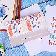 Memo Pads - Cat Dog Panda Memo Pad Sticky Notes