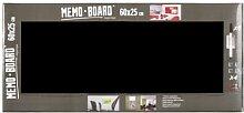 Memoboard 25X60 Schwarz