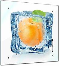 Memoboard 40 x 40 cm, Essen & Trinken - Eiswürfel