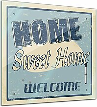 Memoboard 40 x 40 cm, Interieur - Home Sweet Home