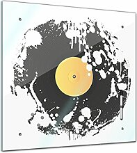 Memoboard 40 x 40 cm, Männermotive - Grunge