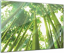Memoboard 60 x 40 cm, Pflanzen - Bambus mit