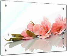 Memoboard 60 x 40 cm, Pflanzen - Gladiole -