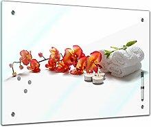 Memoboard 60 x 40 cm, Pflanzen - Orchidee -