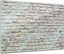 Memoboard 80 x 60 cm, Textur - Textur Mauerwerk II