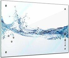 Memoboard 80 x 60 cm, Textur - Textur Wasser -