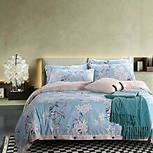 memorecool Haustierhaus Tasten Design ab Version Bettwäsche Sets Warm dicker bequem reine Baumwolle 4Stück Heimtextilien Quilt Bezug und Bettlaken voller Größe, baumwolle, pattern9, Queen