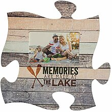 Memories Are Made am See Holz Look 12 x 12 Wand