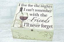 Memory Box Friendship Keepsake I Live For The