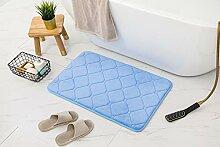 Memory Foam Badteppich, Fußmatte, weich und