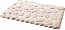 Memory Foam Teppich für Badezimmer Coral Fleece