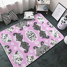 Memory Foam Teppich für Hotelkinderzimmer