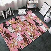 Memory Foam Teppich für Wohnzimmer Spielzimmer