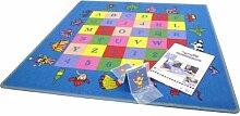 Memory Kinder Spielteppich inklusive 36 Spielkarten