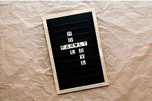 Memotafel Letterboard ModernMoments Farbe: Schwarz