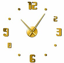 Menddy DIY Wanduhr Modernes Design Uhren Wanduhr