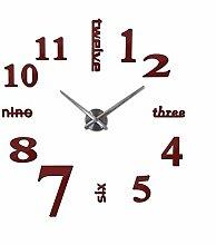 Menddy Mode Neue Wanduhr Uhr Uhren Rund Dekoration