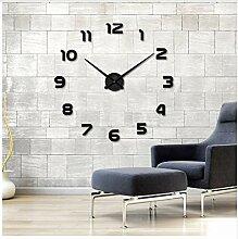 Menddy Neue Wanduhr Uhr Uhren 3D DIY Acryl Spiegel