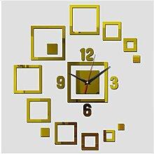 Menddy Top Wandaufkleber Uhren Wohnkultur Acryl