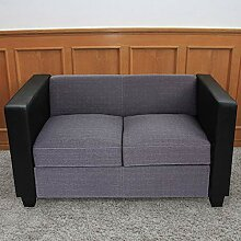 Mendler 2er Sofa Couch Loungesofa Lille,