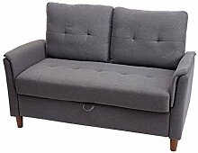 Mendler 2er Sofa HWC-H23, Loungesofa Doppelsitzer