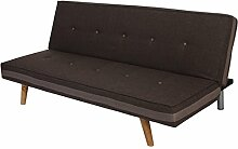 Mendler 3er-Sofa Herstal, Couch Schlafsofa