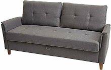 Mendler 3er Sofa HWC-H23, Loungesofa Dreisitzer