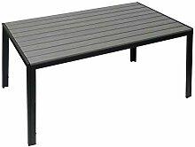 Mendler Gartentisch HWC-G12, Balkontisch Tisch,