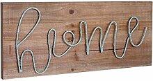Mendler LED-Holzschild, Leuchtbild Wandbild,