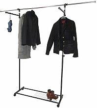 Mendler Luxus Kleiderwagen Kleiderständer