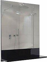 Mendler Wandspiegel mit Ablage HWC-B19, Badspiegel