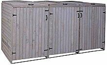 Mendler XL 3er-/6er-Mülltonnenverkleidung