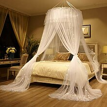 Mengersi Betthimmel-Vorhang für Mädchen und