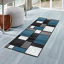 MENGH Luxus Teppich 100x340cm, Teppich für Flur,