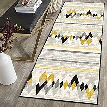 MENGH Luxus Teppich 120x320cm, Teppich für Flur,