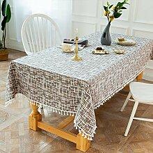 MENGH Tischdecken 90x100cm, Tafeltuch pflegeleicht