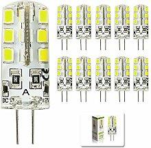 mengjay 10 Stück - 3W G4 LED leuchten, Ersatz